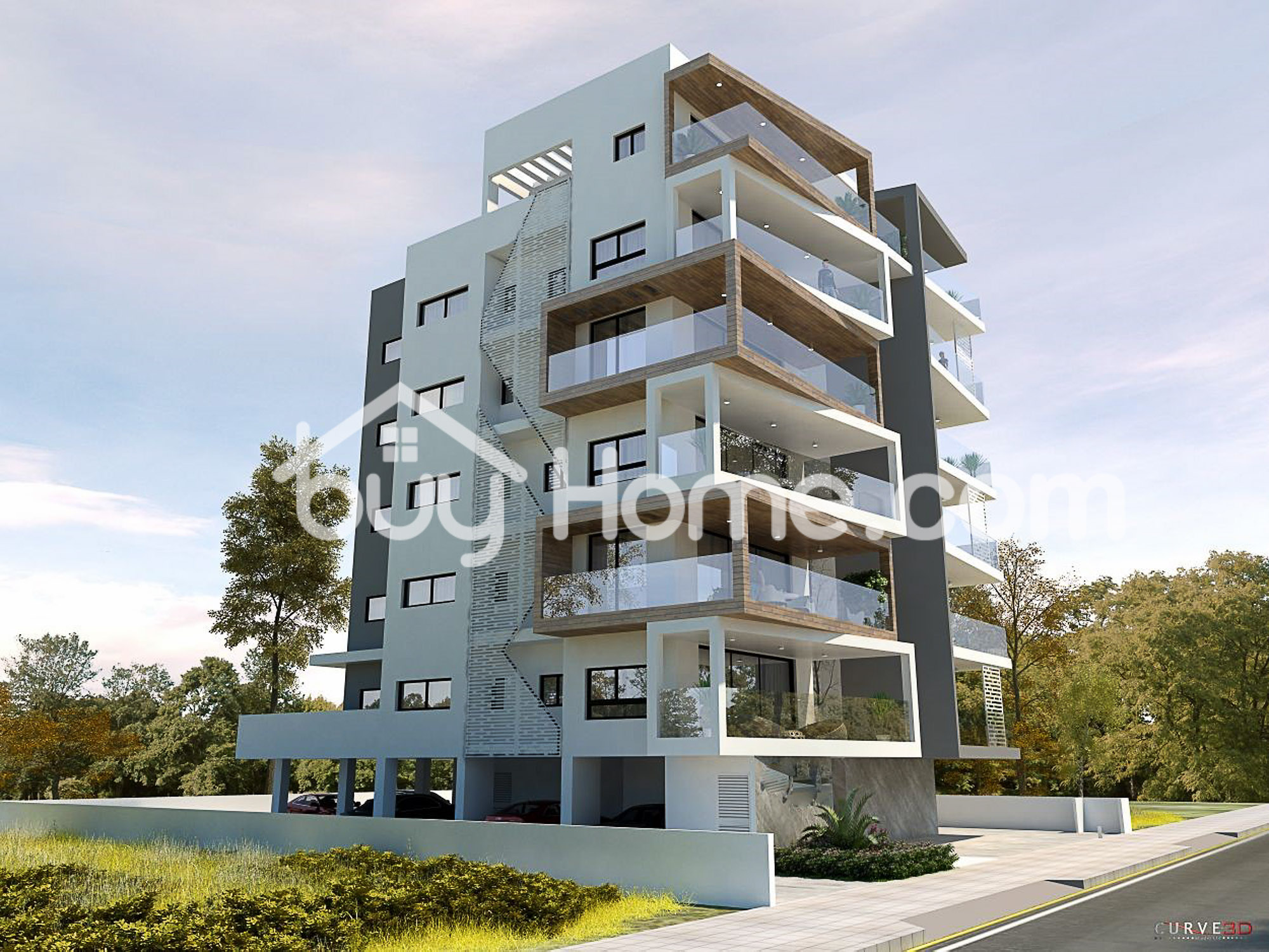2 Bed Modern Apt- 350 meters  from the beach | BuyHome