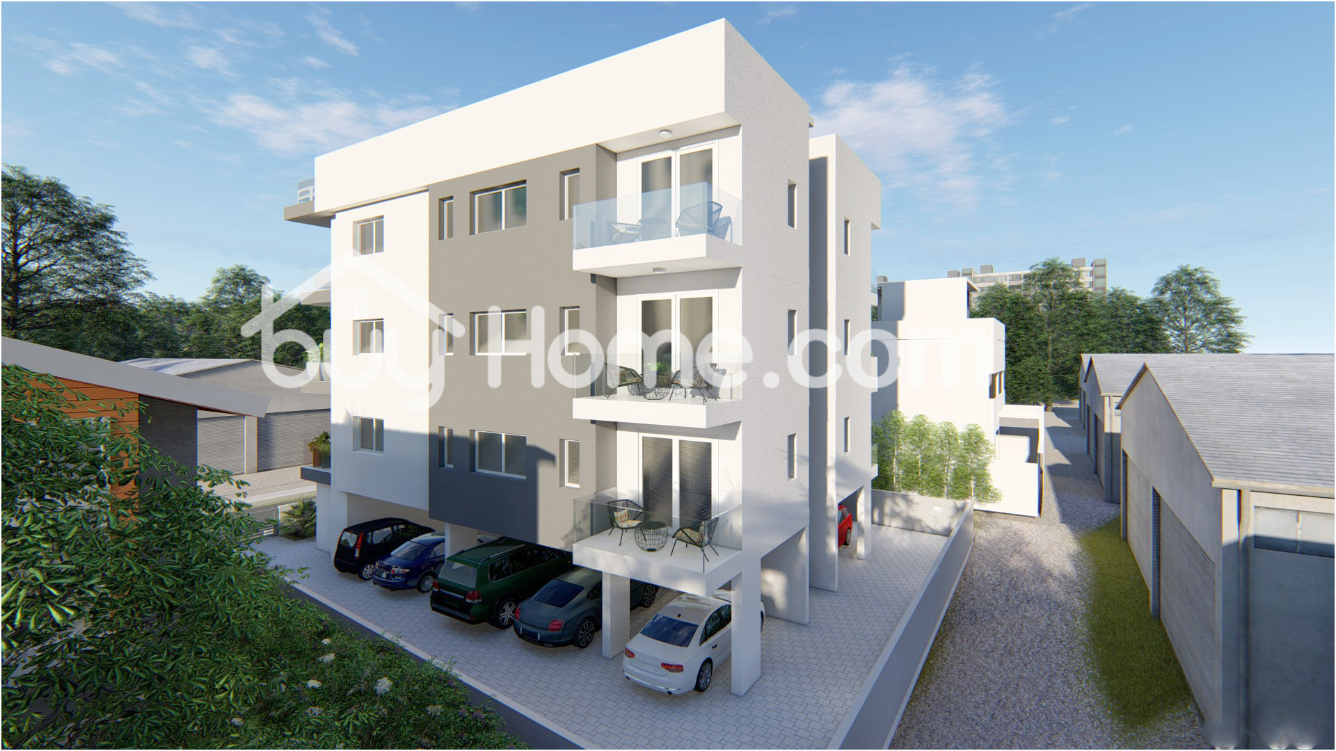 Flat With Roof Garden   BuyHome