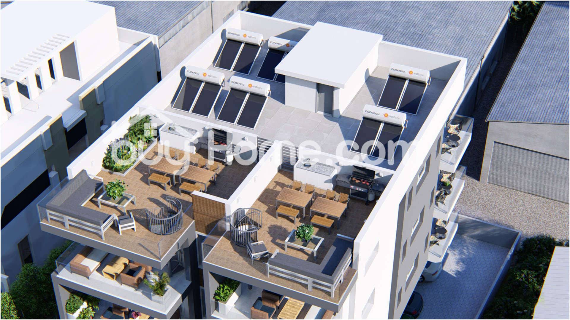 Flat With Roof Garden | BuyHome