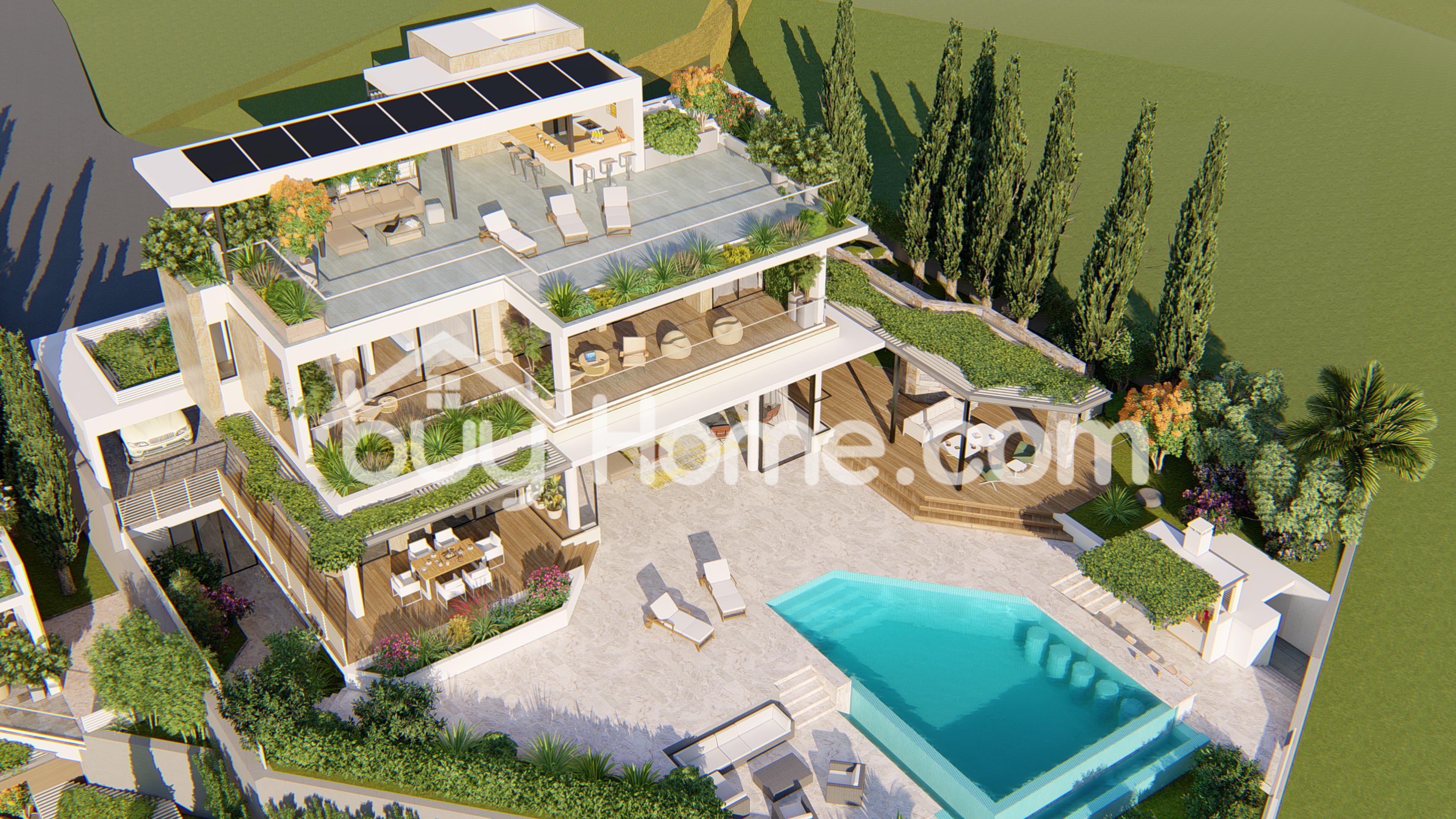Ultra-Modern Luxury Villas in Agios Tychonas | BuyHome