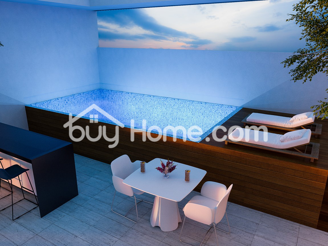 2 Bed Penthouse Apt Papas Area | BuyHome