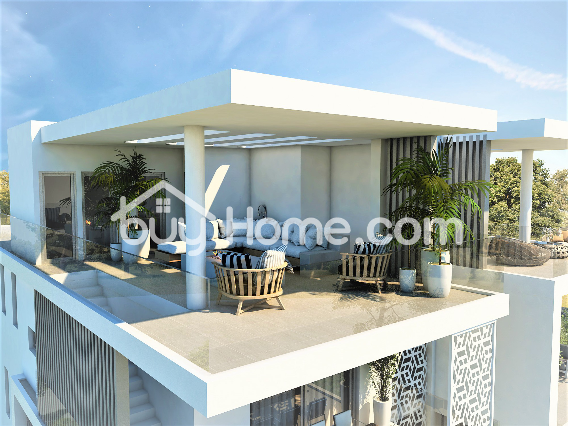 2 Bed Penthouse with Roof Garden   BuyHome
