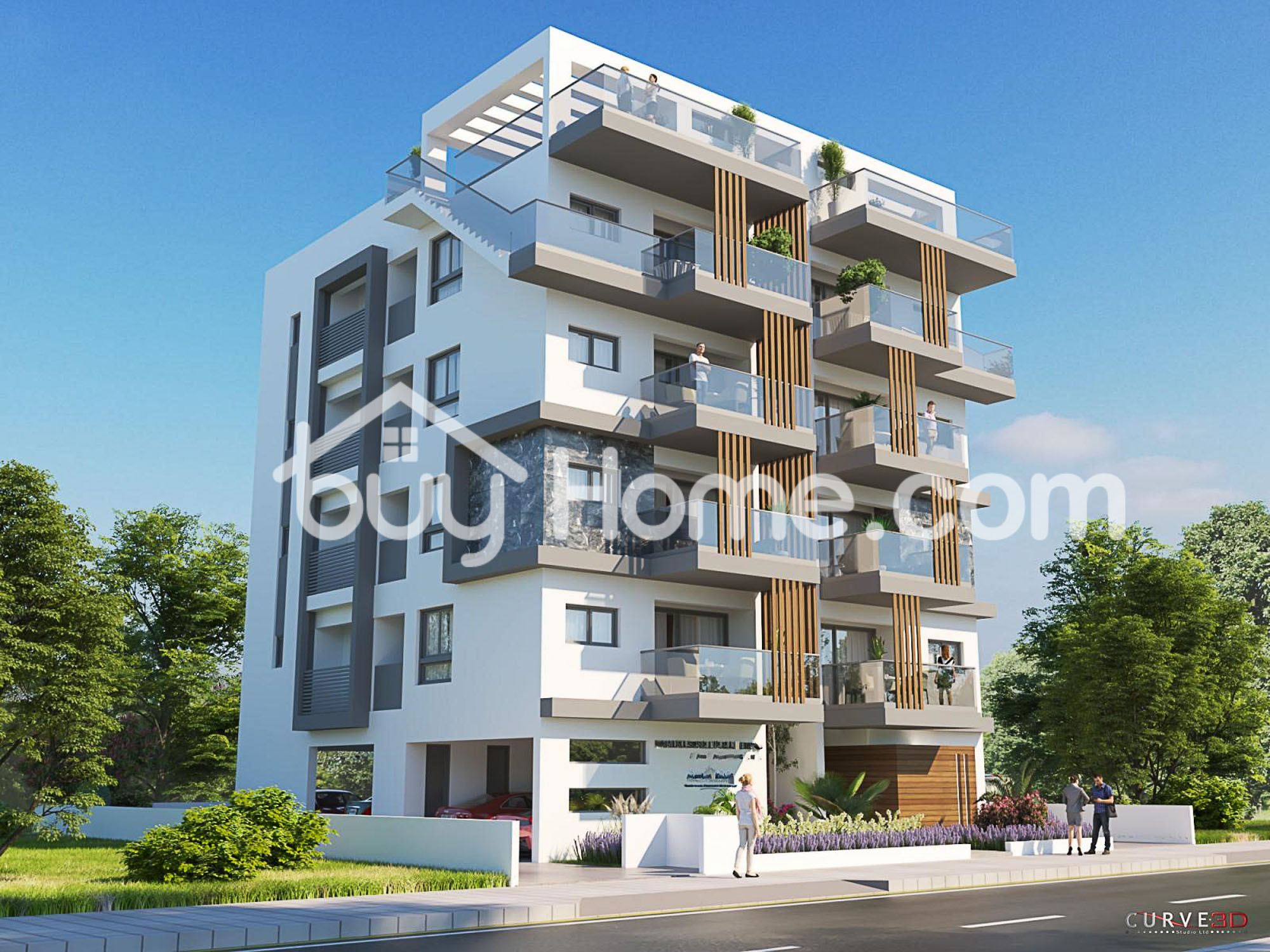 2 Bedroom  Top Floor Apartment + Roof Garden | BuyHome