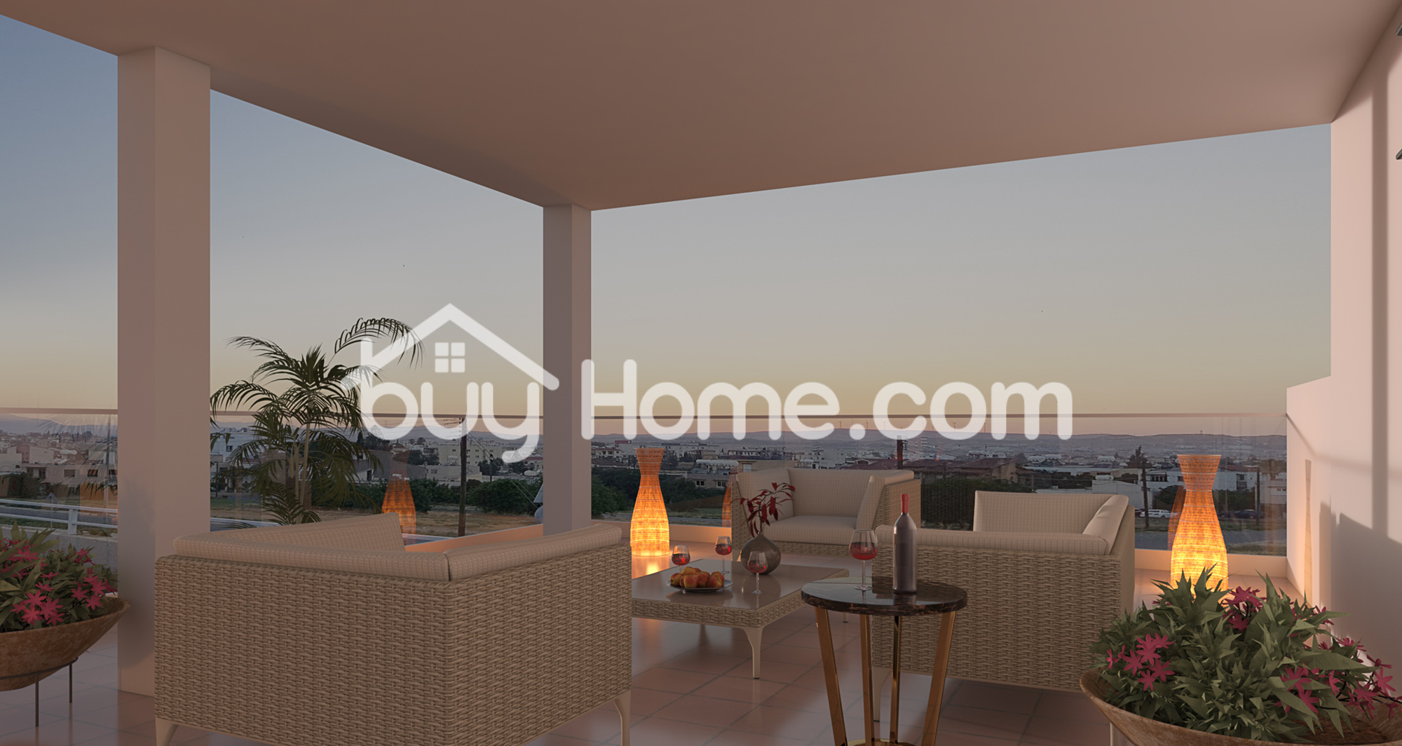2 BDR Top floor apartment with roof garden | BuyHome