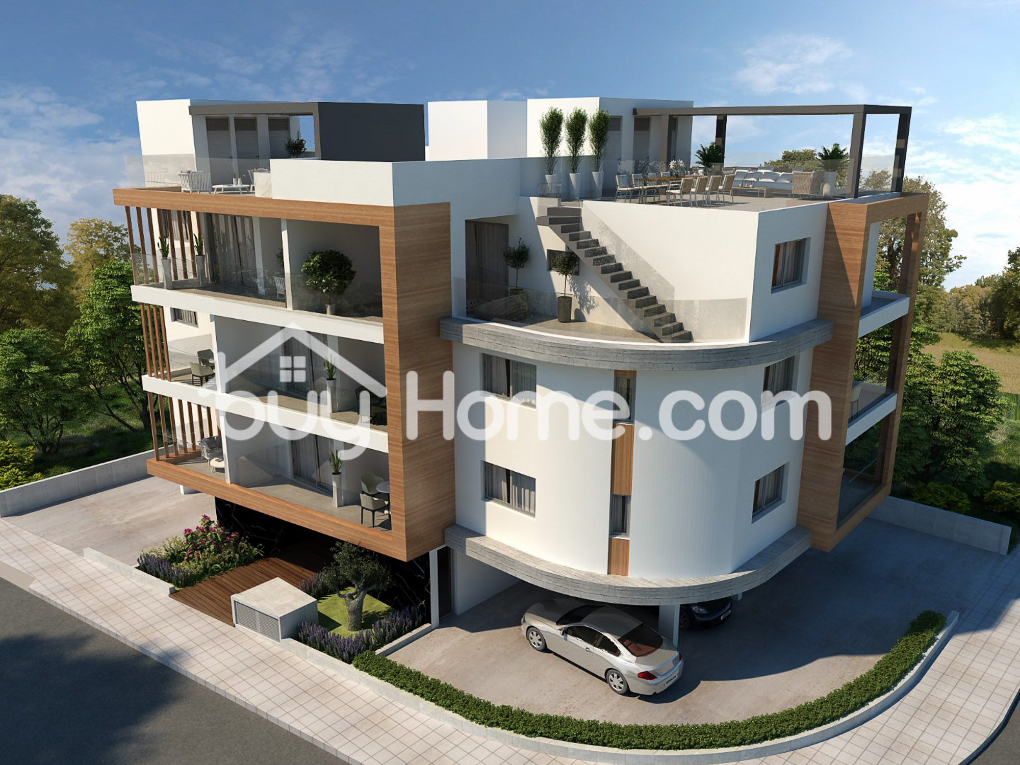 3+1 BDR Ap. with roof garden | BuyHome